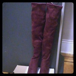 Culkin -call it spring burgundy long boots